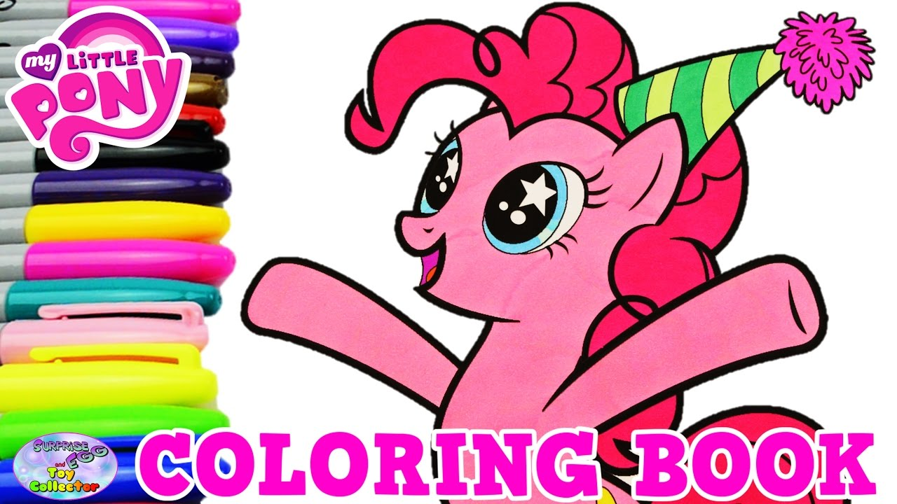 My Little Pony Coloring Book Pinkie Pie Party Pony Episode