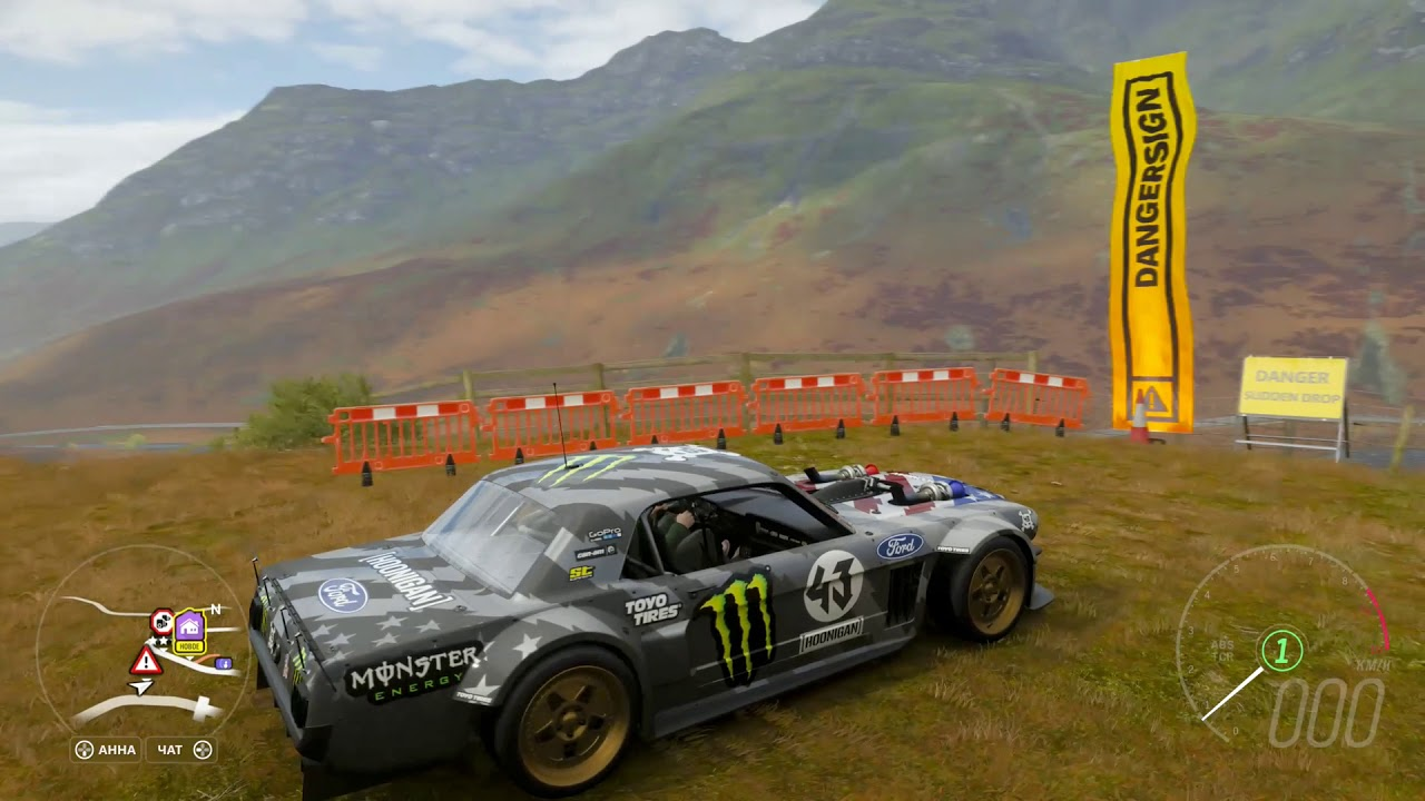 Forza Horizon 4 - Hoonigan Ford Mustang 65 - YouTube