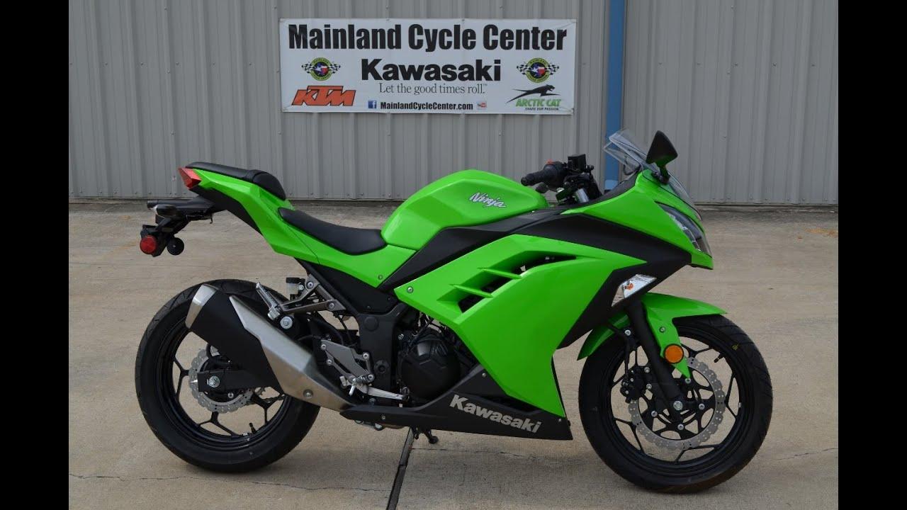 SALE 3799 2015 Kawasaki Ninja 300 Lime Green Overview and