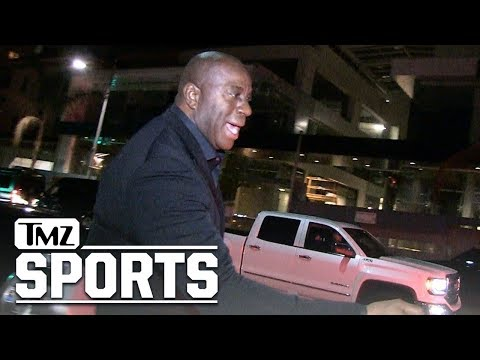 Magic Johnson Heaps Praise on LaVar Ball After Threat to Pull Lozno from Lakers | TMZ Sports