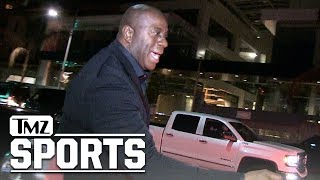 Magic Johnson Heaps Praise on LaVar Ball After Threat to Pull Lozno from Lakers