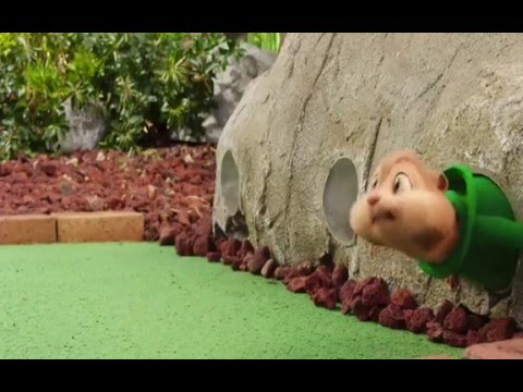 Alvin And The Chipmunks The Road Chip : Golf Scene