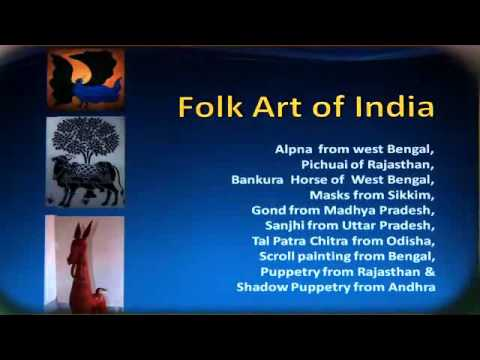 Lesson 4 PART01 PAINTING FOLK ART OF INDIA