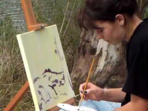 CRAWFORD ART CLASS AT THE VAAL