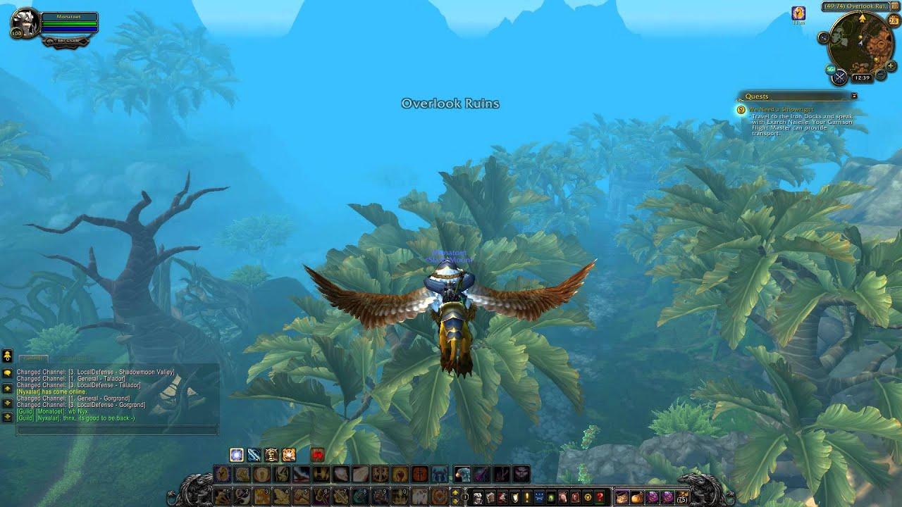 Draenor Quest 360: We Need a Shipwright (WoW, human, Paladin)