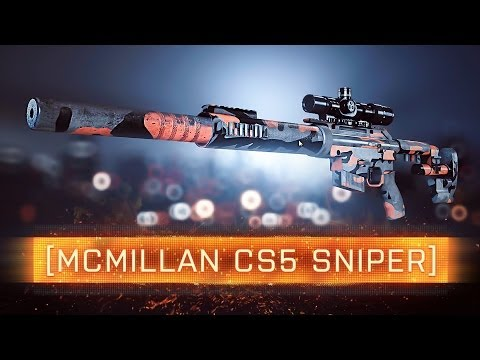 ► CS5 SNIPER! | Battlefield 4 Weapon Review