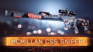 ► Cs5 Sniper! | Battlefield 4 Weapon Review