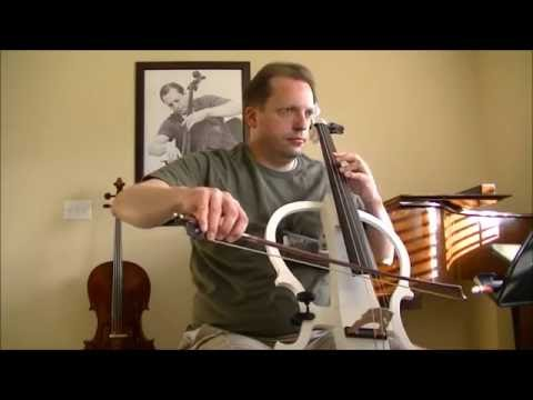 Demonstration of Cecilio Electric Cello (Benedictus, Electric Cello Version W/Reverb (Original)