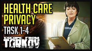 Health Care Privacy Tasks (1-4) Guide - Escape from Tarkov