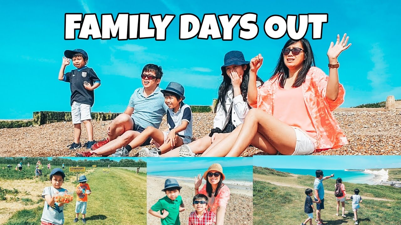 FAMILY DAYS OUT FT. LITTLEHAMPTON BEACH, EASTBOURNE BEACHY HEAD AND ROUNDSTONE FARM #familydayout
