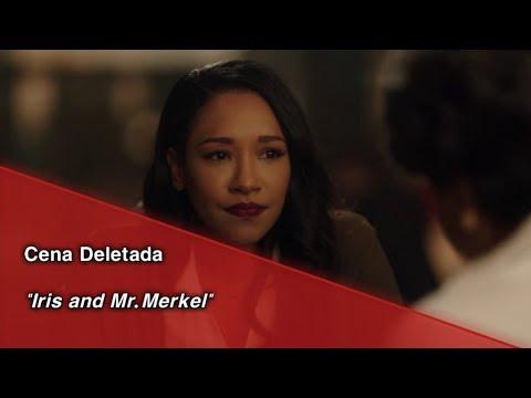 "The Flash • Cena Deletada ""Iris And Mr. Merkel"". (Legendado)"