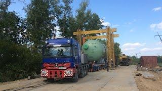 AT Special Transport / Wide & Long Transports (Company SWTRANS)(Перевозка негабаритных тяжеловесных парогенераторов на четвертый блок Тяньваньской АЭС-2. Компания ООО..., 2015-11-06T13:31:50.000Z)