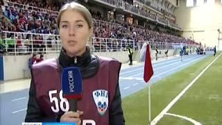 Футбольный «Енисей» обыграл самарские «Крылья Советов» cо счетом 1:0