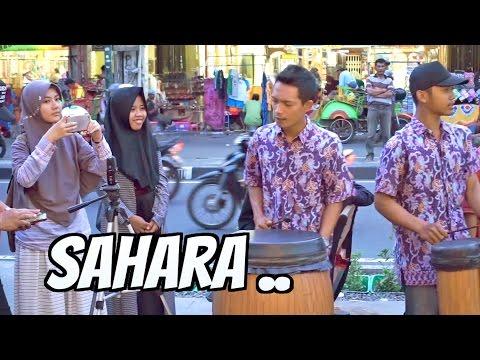 SAHARA - Angklung Malioboro CAREHAL (Pengamen Jogja) Edisi Lagu Malaysia (Dangdut Koplo)