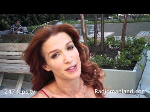 Poppy Montgomery Interview @ Trump Soho By Radioman