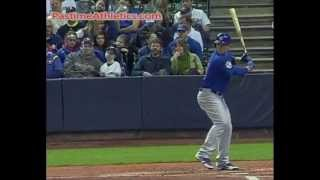 Anthony Rizzo Hitting Slow Motion Home Run - 1000fps! Chicago Cubs Baseball Swing MLB