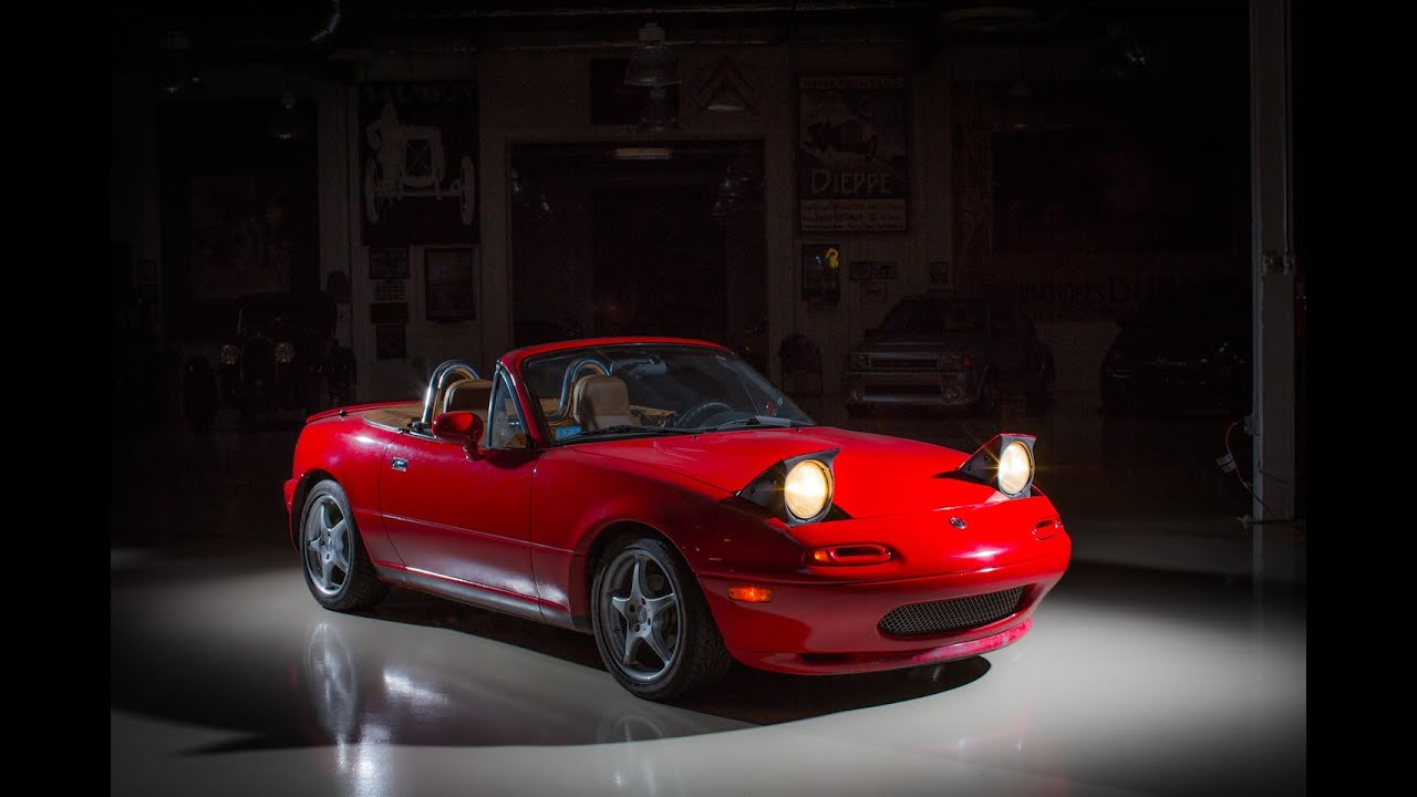 25 years of miata jay leno 39 s garage youtube. Black Bedroom Furniture Sets. Home Design Ideas