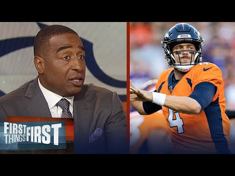 Cris Carter reacts to Case Keenum's debut with the Denver Broncos   NFL   FIRST THINGS FIRST