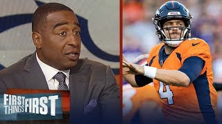 Cris Carter reacts to Case Keenum's debut with the Denver Broncos | NFL | FIRST THINGS FIRST