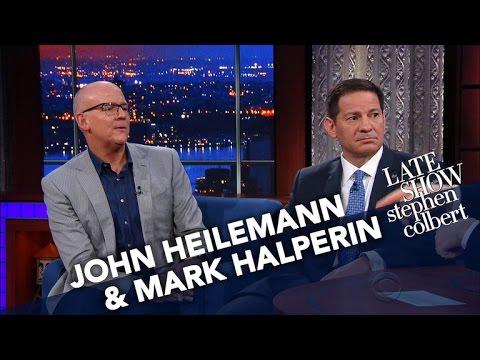 Mark Halperin And John Heilemann Haven't Seen Stephen Since Nov. 8th