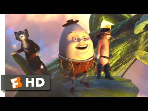 Puss In Boots (2011) - The Magic Beanstalk Scene (4/10) | Movieclips