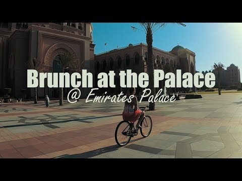 BRUNCH | Brunch at the Emirates Palace