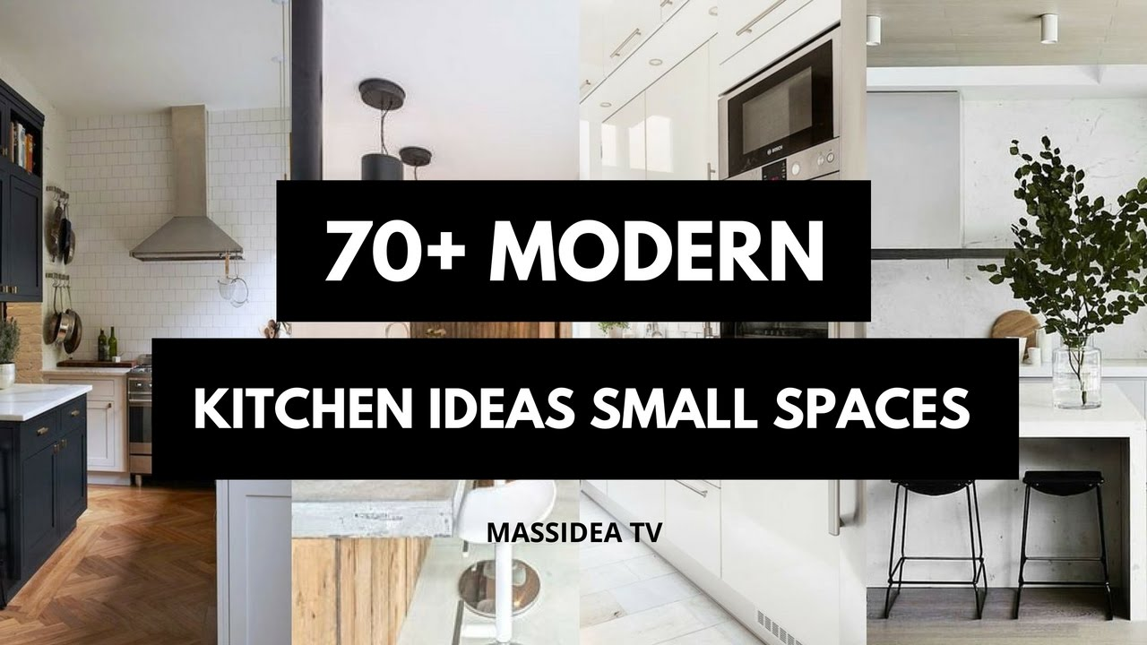 70 best clean modern kitchen ideas for small spaces 2018 youtube - Modern kitchen for small spaces ...