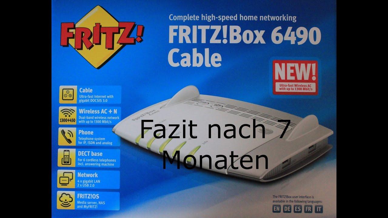 Avm Fritz Box 6490 Cable Fazit Youtube