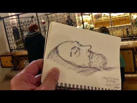 Saint Pio Pilgrimage. San Giovanni Rotondo . Pray Hope Don't Worry. Video with Prayers