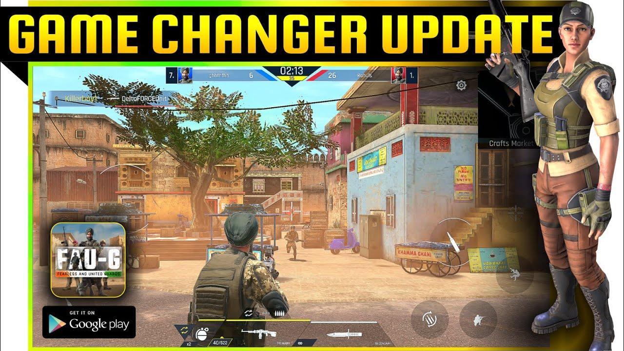 Download FAU-G   FAUG Dussehra update   Faug TDM & FFA mode new update gameplay   Faug tdm Gameplay #faug