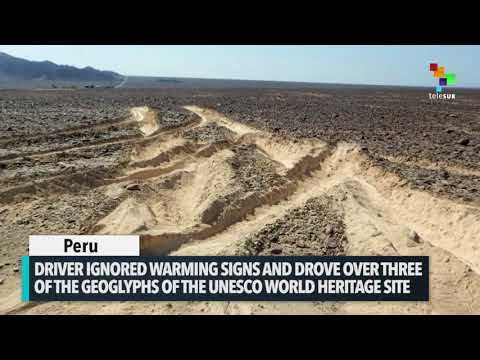 TRUCK DRIVER PLOWED NAZCA LINES