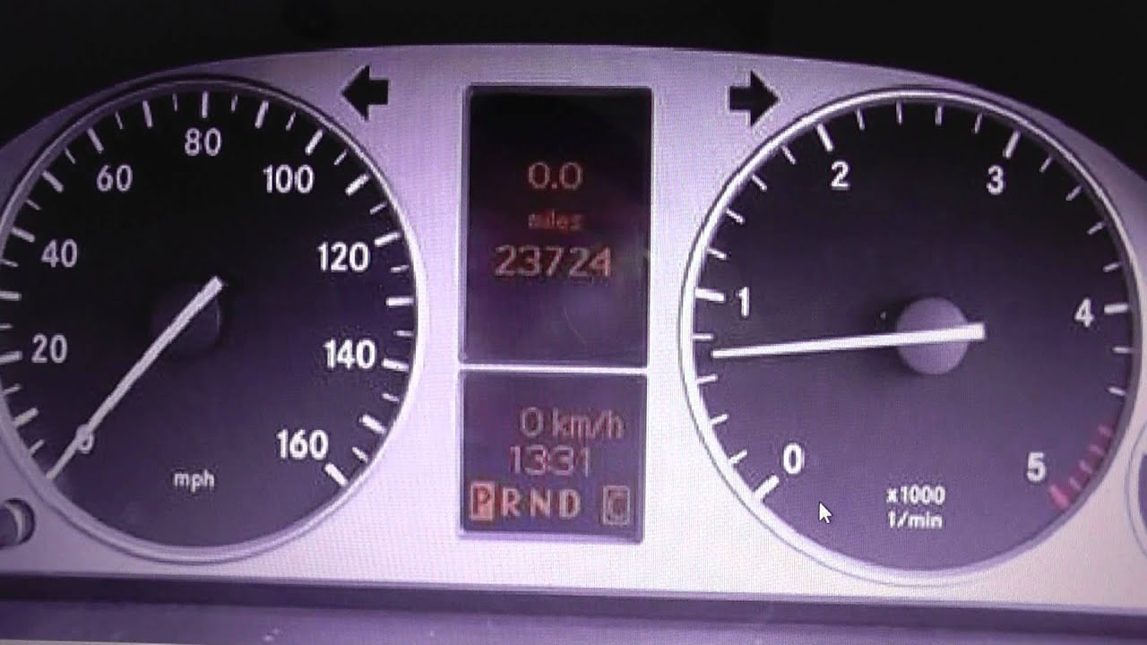 Mercedes B Class W245 Dashboard Warning Lights What They Mean