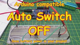 #123 Arduino Auto Shutdown (and switch off)