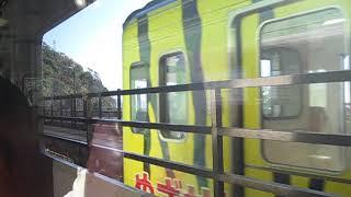2019 01 車窓・土佐くろしお鉄道 奈半利線 9640-2S形 赤野~安芸