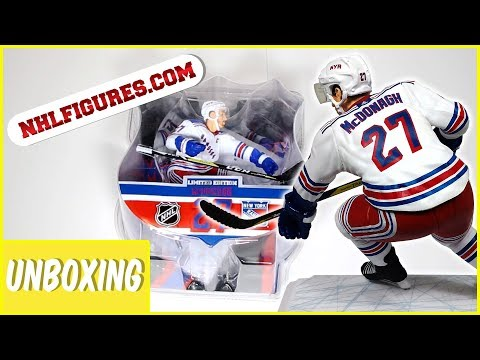 NHL Ryan McDonagh New York Rangers Limited Edition Unboxing | Imports Dragon Figures