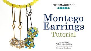 Montego Earrings - Beadweaving Tutorial