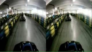 go kart prague cerny most circuit 2 GoPro HD 3D stereoskopic