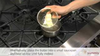 How to melt and soften butter