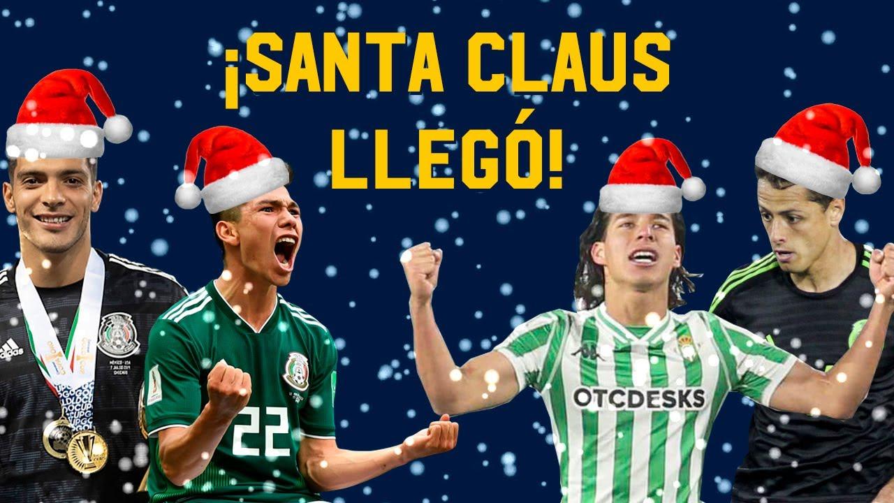 ¿Qué le pidió el Chucky Lozano a Santa Claus? | Regalos navideños a Futbolistas