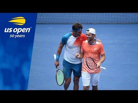 Tennis Blooper Alert: Friendly Fire From Malek Jaziri