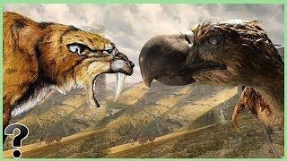 What If A Saber-Toothed Tiger Fought A Terror Bird?