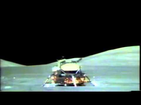 APOLLO 17 Lunar Module Lift Off! Low - YouTube