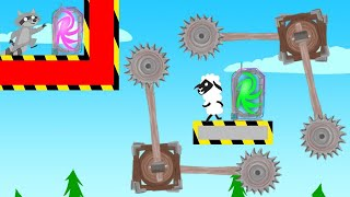 ENTER THE *DEADLY* Portal Or LOSE In Ultimate Chicken Horse!