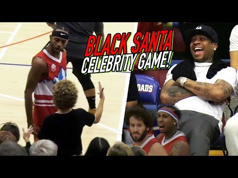 BDOT Goes OFF in Front Of ALLEN IVERSON! Lil Dicky, Tyga, FamousLos & MORE in XMAS CELEBRITY GAME!
