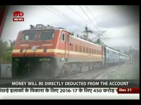 Booking of Rail Tickets via SMS possible