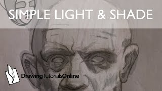 How To Simplify Your Light & Shadow Shapes When Portrait Drawing