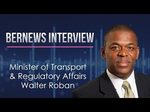 Transport Minister Walter Roban Interview, Oct 4 2017