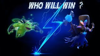 Night Witch vs. Beta Minion || COC Clash of Clans clan attack strategy builder base 3 star