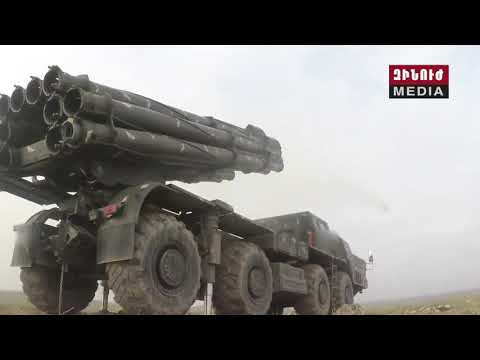 РСЗО 9К58 «Смерч» Армянской Армии / Armenian Army Smerch 9K58 MLRS