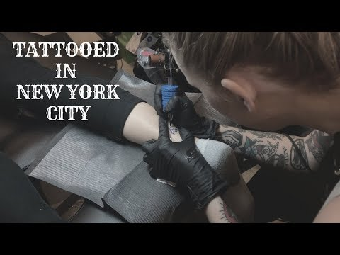 TATTOOED IN NYC!!!